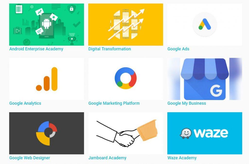 اكاديمية جوجل للتسويق الرقمي