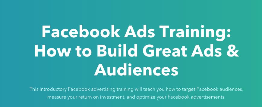 كيف تنشا اعلانات قوية في فيسبوك - hubspot