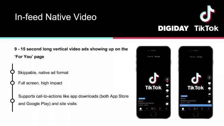 اعلانات In feed native video